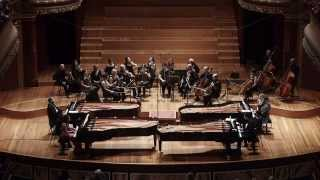 Vivaldi - Bach: A minor concerto for 4 pianos, 2, 3 movements