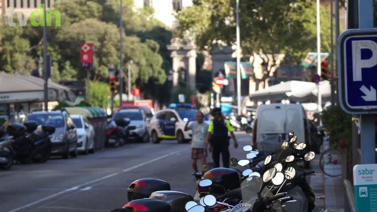Veículo atropela grupo de pessoas em Barcelona e deixa vários mortos