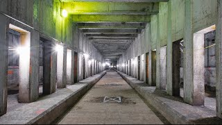 Unfinished Second Ave Subway Tunnel