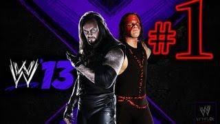WWE 13 Attitude Era - Brothers Of Destruction Walkthrough Playthrough Part 1 HD