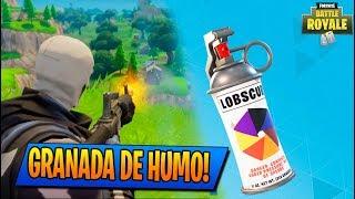 NUEVA GRANADA DE HUMO!! ACTUALIZACIÓN FORTNITE!! DIRECTO