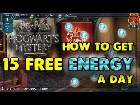 HOW TO GET 15 FREE ENERGY A DAY - HARRY POTTER: HOGWARTS MYSTERY