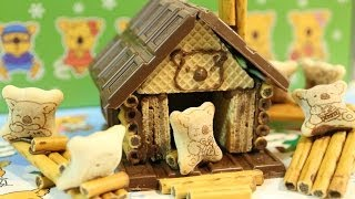 i made Lotte Koala's march Chocolate House Making Kit.This kit cont...