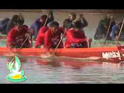 อำเภอป่าโมก  จัดพิธีเปิดการแข่งขันเรือยาวประเพณี เพื่อชิงถ้วยพระราชทานพระบาทสมเด็จพระเจ