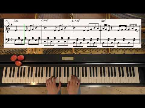 How Deep Is Your Love - Calvin Harris, Disciples - Piano Cover Video by YourPianoCover