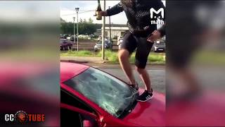 WTF MOMENTS ON THE ROAD and ROAD RAGE 2017 Caught on Dash Cam, Epic Retarded Drivers Fails 2017