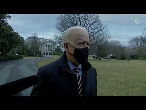 Press Gaggle: CCP Puppet Joe Biden Speaks to the Press Covid relief will hurt Americans