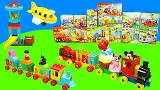 Spielen mit Lego Duplo Eisenbahn, Spielzeug & Spielzeugautos   Toys Unboxing for Kids