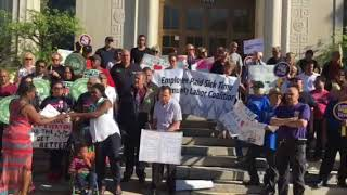 Employee Paid Sick Time Rally - Joe Mayhew