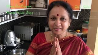 Moong Dal Payasam - Navratri Prasad Day 3