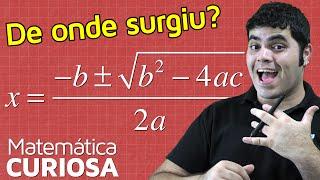Dedução da Fórmula de Bhaskara Completando o Quadrado | Matemática Rio