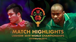 Fan Zhendong vs Aruna Quadri   2019 World Championships Highlights (R32)