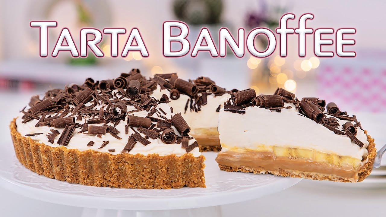 Receta de TARTA BANOFFEE - Postre fácil y SIN Horno - Tan Dulce