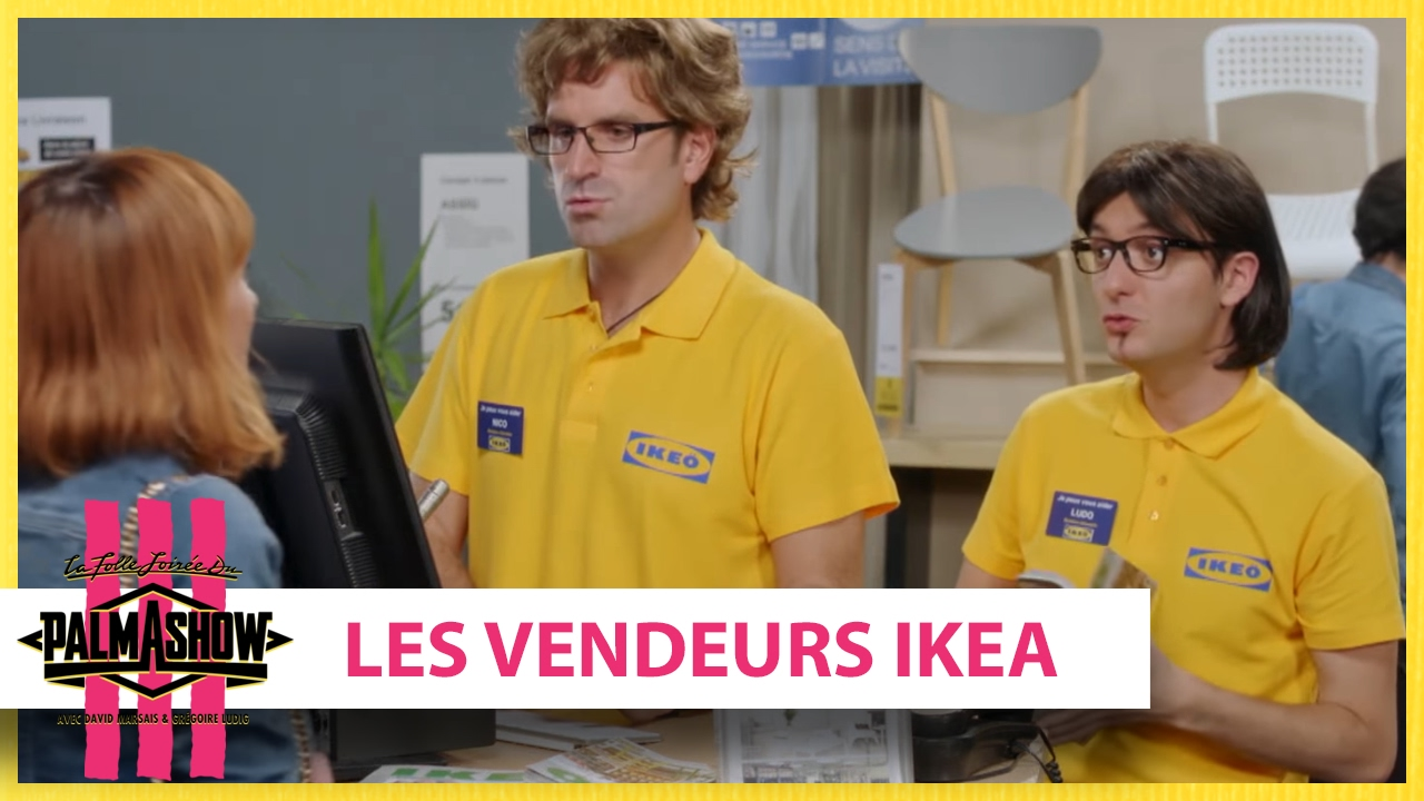 Les Vendeurs Ikea Palmashow Youtube
