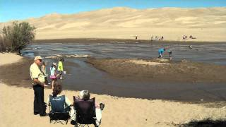 Great Sand Dunes National Park - This park is extremely family friendly with great hiking, camping, playing in the sand and nature watching. Great Sand Dunes receives Colorado Lottery proceeds for trails, amenities and facilities.