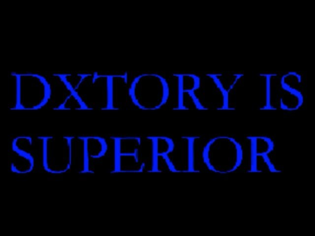 Dxtory is superior !!!