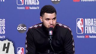 Fred VanVleet Postgame Interview - Game 2 | Warriors vs Raptors | 2019 NBA Finals