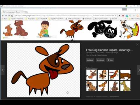 How to Create Vector Clipart from free Internet Images using Graphic Tracer