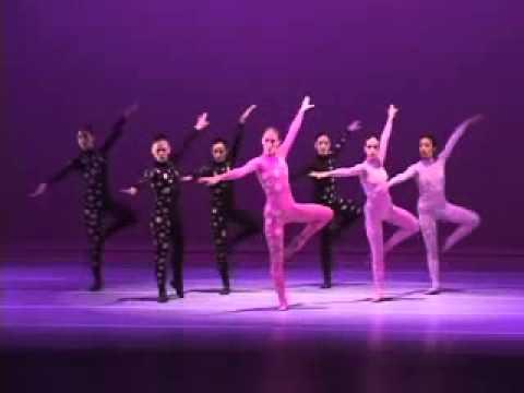 Gloria Contreras TCUNAM , Ionizacion Edgar Varèse. Taller coreográfico de la UNAM Ionisation