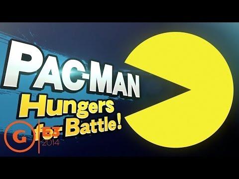 Super Smash Bros. - Pac-Man Reveal Trailer - E3 2014