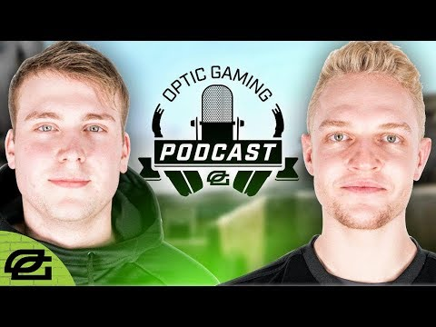 OpTic Podcast Ep 44 CS:GO - New faces and new ambitions