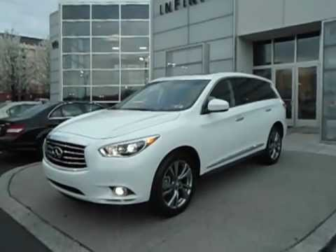 2013 Infiniti Jx35 With 20 Inch Wheels At Infiniti Willow
