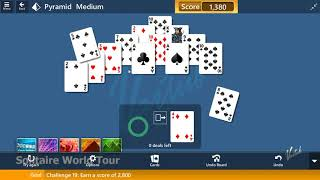 Solitaire World Tour #19 | August 17, 2019 Event