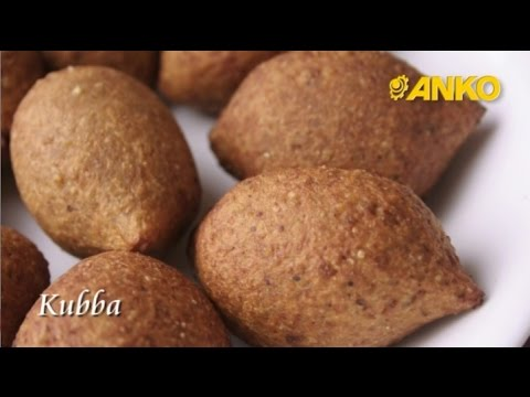 How To Make Kubba By ANKO Food Machine