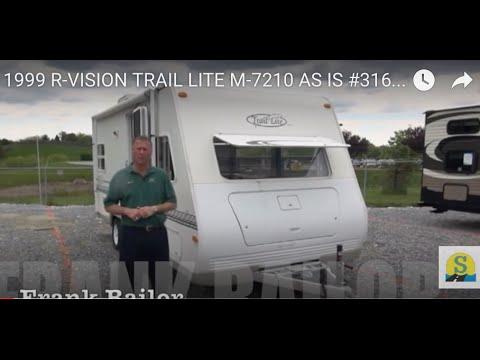 1999 R VISION TRAIL LITE M 7210 AS IS 31658b W Frank Bailor