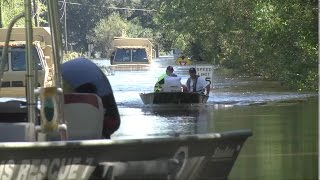 S. Carolina Flooding- Rescues In Wake Of Hurricane Matthew