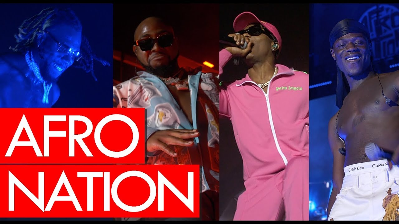 Afro Nation Festival madness! ft Wizkid, Davido, Burna Boy, J Hus, Tiwa Savage, D'Banj