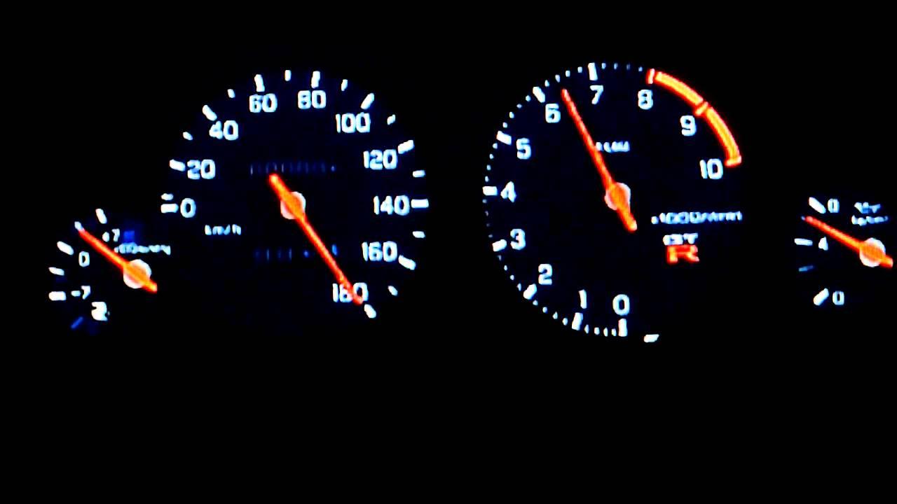 Nissan GT-R R33 Spec V Top Speed Run -GT6- - YouTube