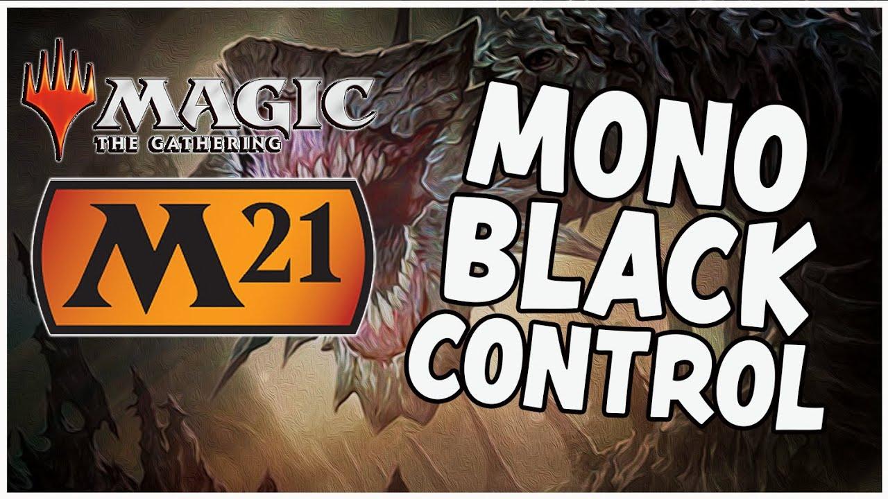 MONO BLACK CONTROL   Core Set 20 Standard Deck Tech