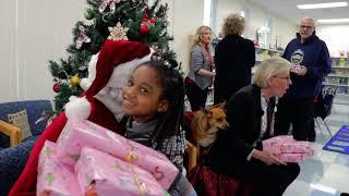 DeSoto Elementary Mayor Castor Gift Giving