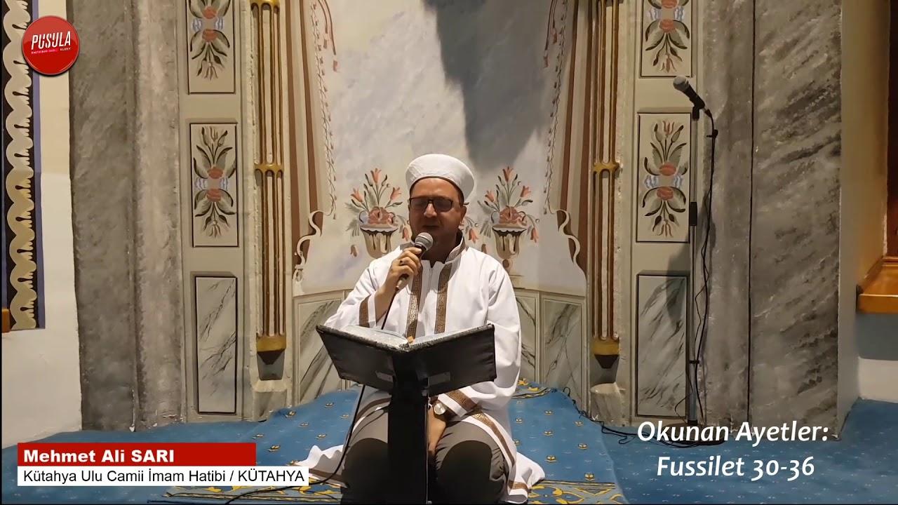 Muhteşem Tilavet - Mehmet Ali Sarı - Kütahya Ulu Camii