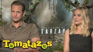 Entrevista: La Leyenda de Tarzán - Alexander Skarsgard y Margot Robbie