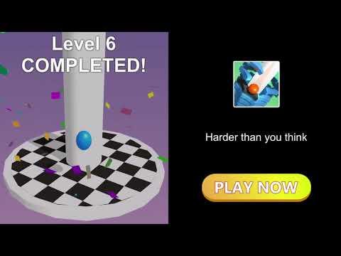 Stack Ball — сломай платформы