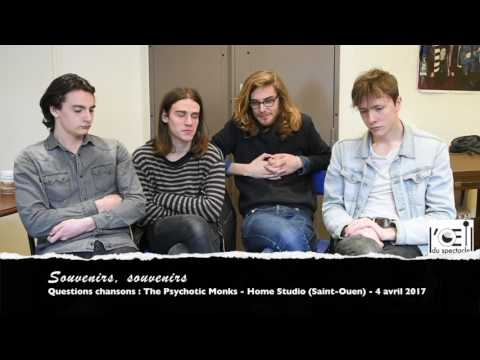 L'Œil du spectacle Interview The Psychotic Monks Home Studio 4 avril 2017