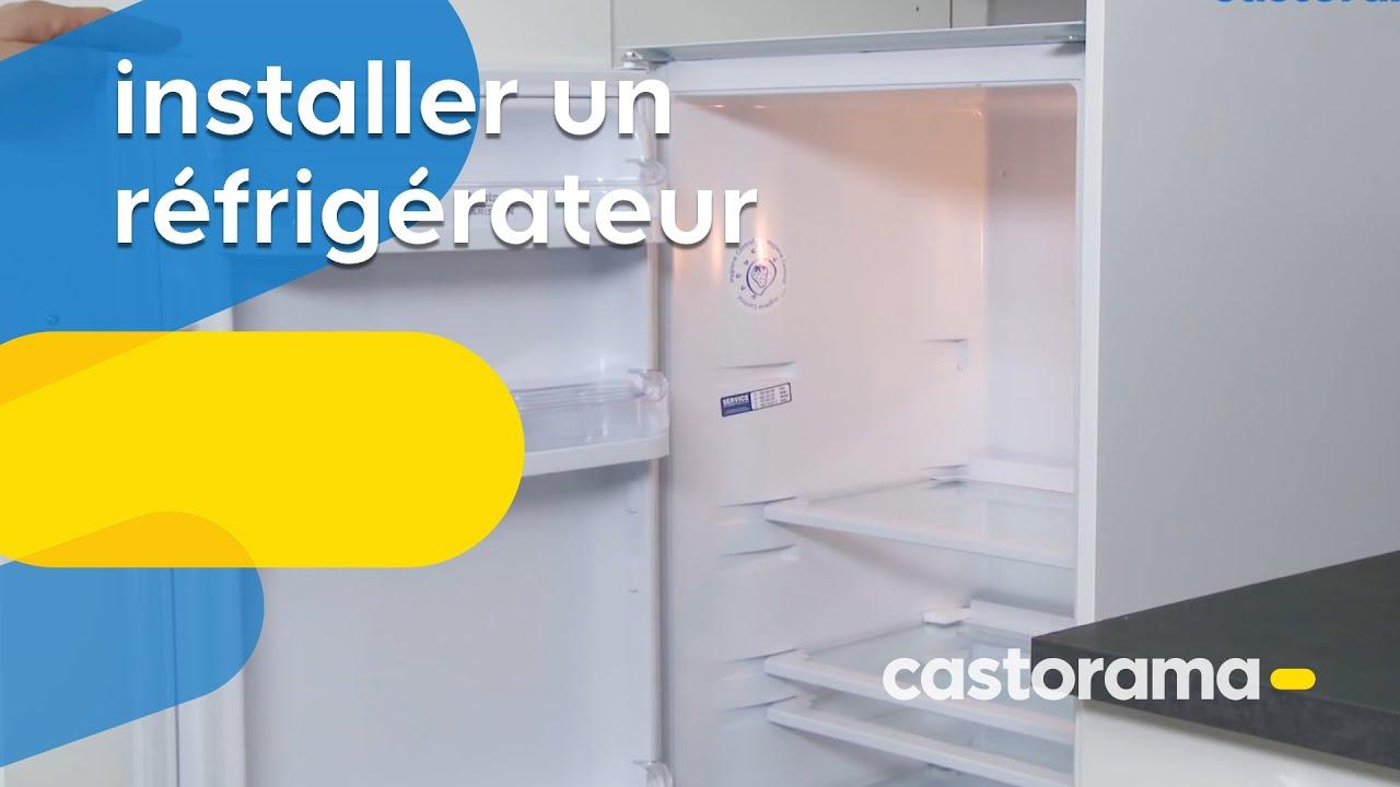 Installer un r frig rateur castorama youtube - Comment installer un refrigerateur encastrable ...