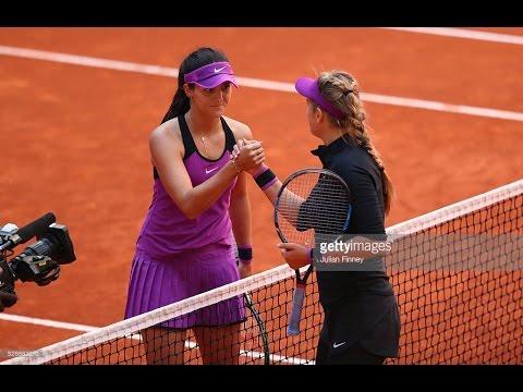 Victoria Azarenka VS Laura Robson Highlight Madrid 2016 R1