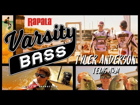 Rapala Varsity Bass Episode 1: Tyler Anderson // Texas A&M On Lake Texoma