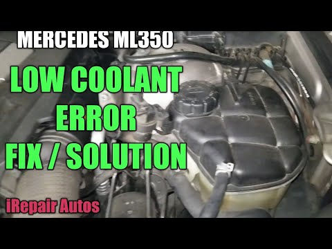 Mercedes Coolant Level  Sensor Diagnostics and Replace | DIY | iRepair Autos