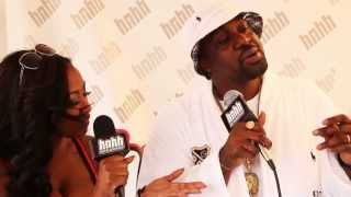 SMOKE DZA at HOT97 Summer Jam XX 2013 Festival Village with HotNewHipHop