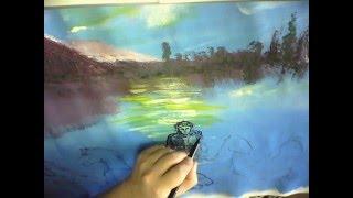 Уроки живописи. Как нарисовать картину акриловыми красками? мастер-класс Буянова Дмитрия