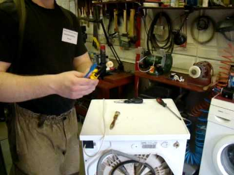 Что делать, если стиральная машина плохо набирает воду?