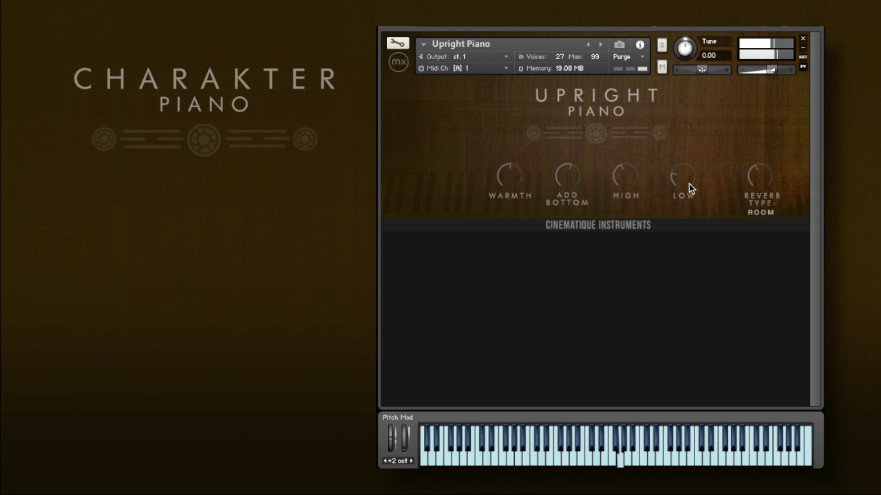 Review: The Charakter Piano Collection by Cinematique