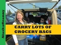 Carry Lots of Grocery Bags With a Carabiner