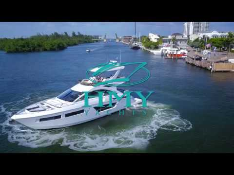 Exclusive Video of the New Cruisers Yachts 60 Fly | HMY Yacht Sales