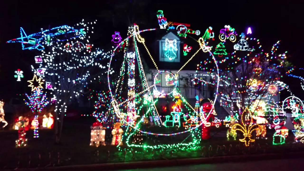 Christmas Lights Savannah