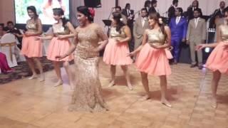 Srimaal + Ayachana Surprise Group Wedding Dance - Water's Edge